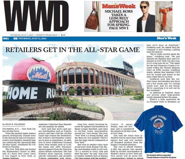 WWD - July 11 - TB All-Star shirt and Rob Goldberg interview